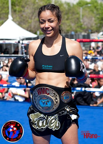 World Muaythai Council » Miriam Nakamoto, WMC Female World Champion