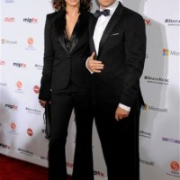 Bridget Moynahan and Donnie Wahlberg