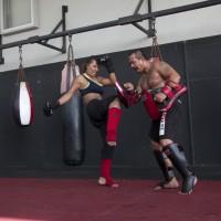 Muaythai training