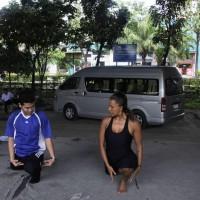 Wai Kru training