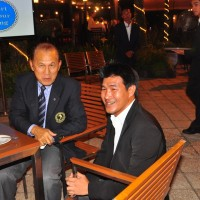 Somluck Kamsing and IFMA President Dr Tapsuwan