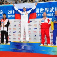World Combat Games 2010 Podium