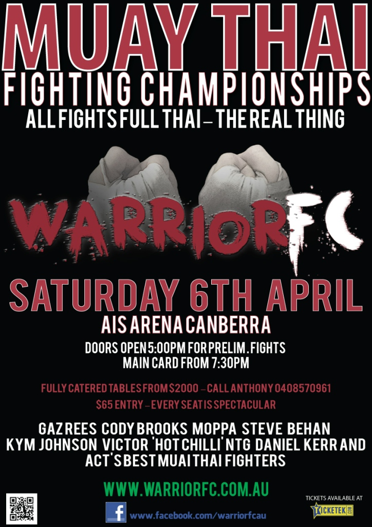 Warrior FC Poster