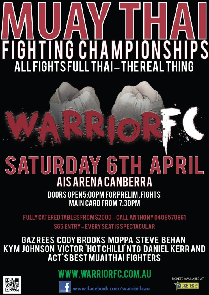 Warrior FC Poster