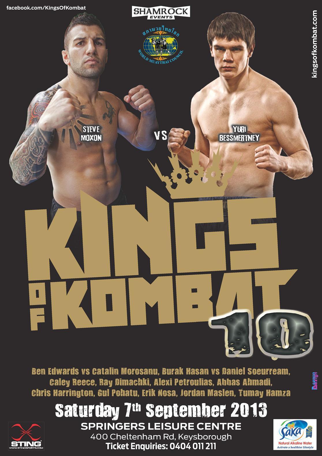 Kings of Kombat 10 Sep13 A4 MOX
