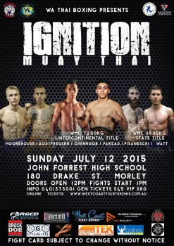IGNITION Poster 12th July 2015