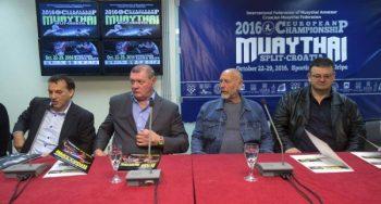 Press conference in Split