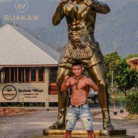 Buakaw Statue