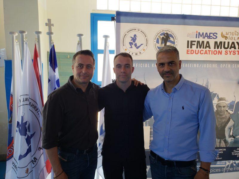 Andrew Scott, Ioannis Papadopoulos and Nikos Ketselidis