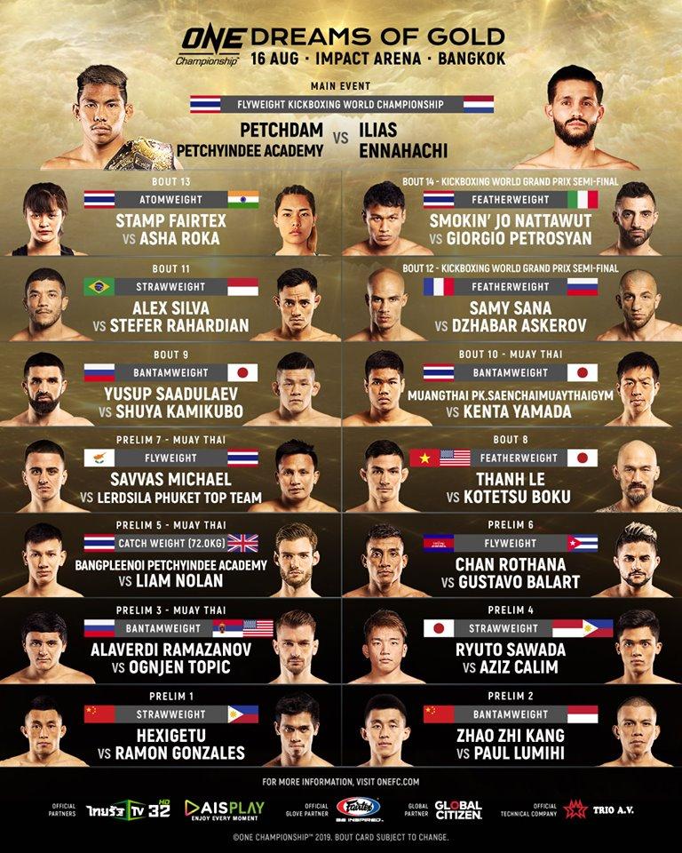One Championship Bangkok