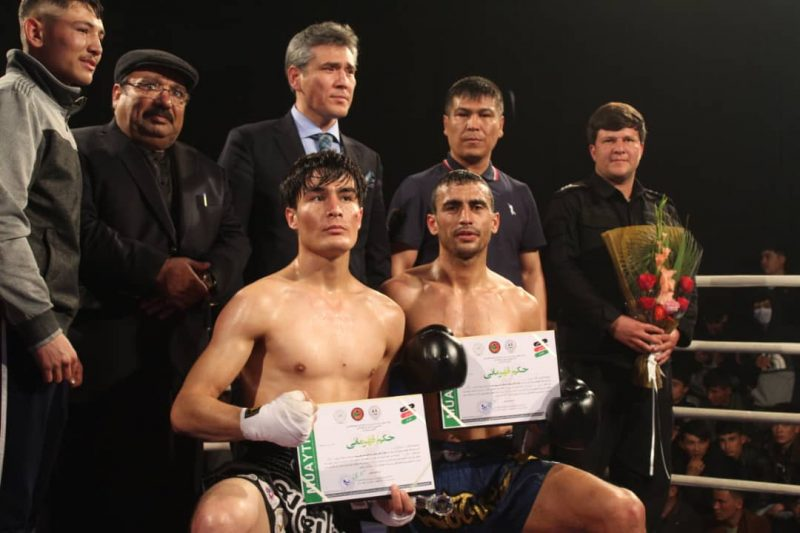 "Afghanistan NF of Muaythai Organised the Professional Muaythai ""Peace Prospects Cup"" in Kabul."