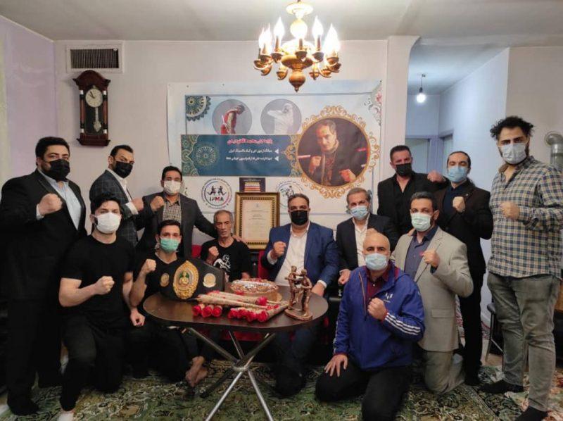 IFMA Honours Pioneer of Muaythai in Iran