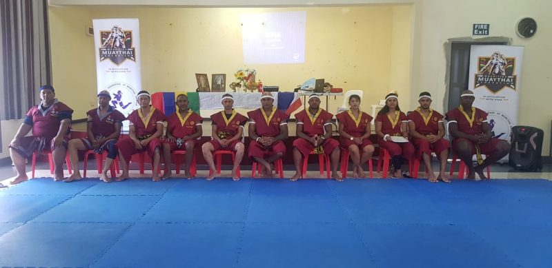Mauritius Muaythai Khan Grading