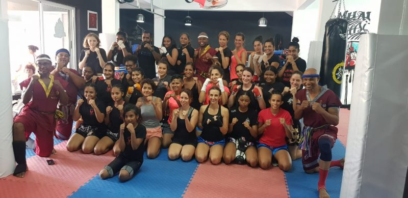 Mauritius Muaythai Federation Prepares for National Women's Day