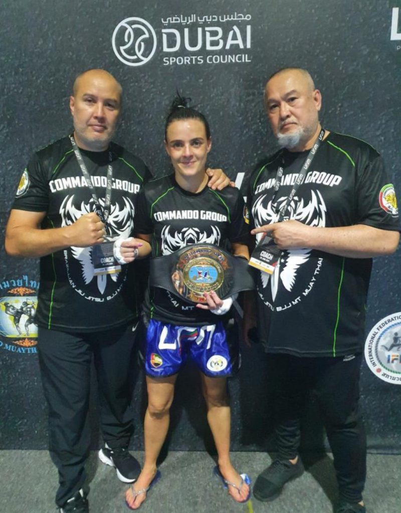 UAE Fight Night: Myriame Becomes the MAD Champion